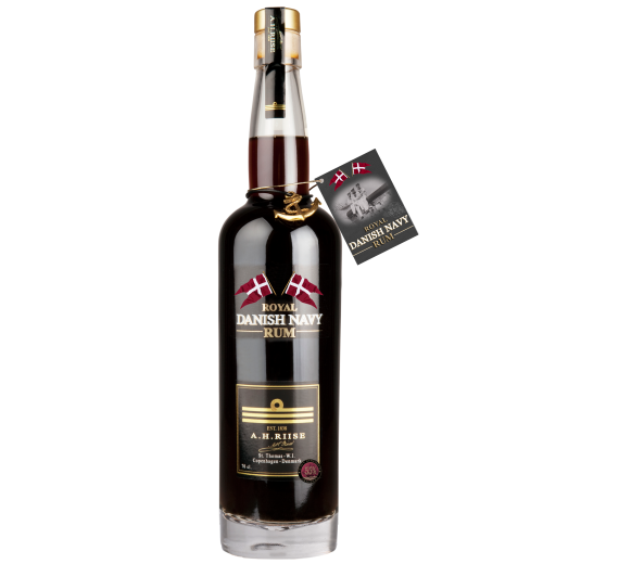 A.H. Riise Royal Danish' Navy Strength' Rum 55% 70cl - St Thomas
