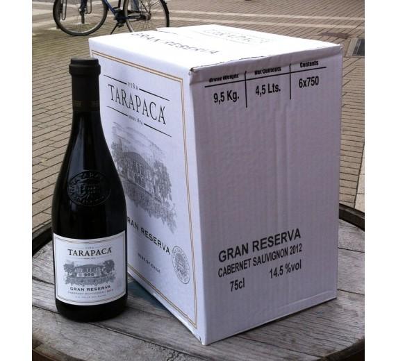 Vingave 6 flasker Tarapaca Grand reserva C.S.