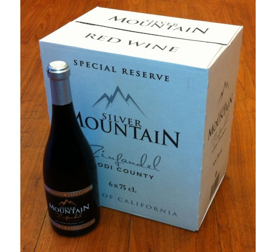Vingave 6 flasker Silver Mount Zinfandel