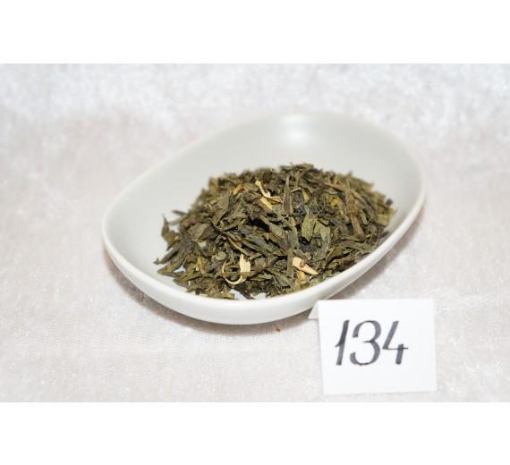 nr. 134 Grøn Sencha - Kvæde 250g