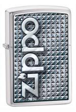 ZippoBrushedCrome28280-20